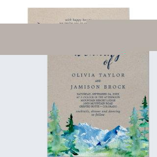 Kraft Rocky Mountain Destination The Wedding Of Invitation