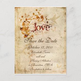 KRW Corinthians Love is: Save the Date Postcard