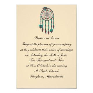 KRW Dreamcatcher Custom Wedding Invitations