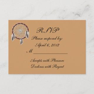 KRW Dreamcatcher Native American Wedding RSVP