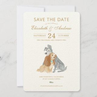 Lady and the Tramp Save the Date