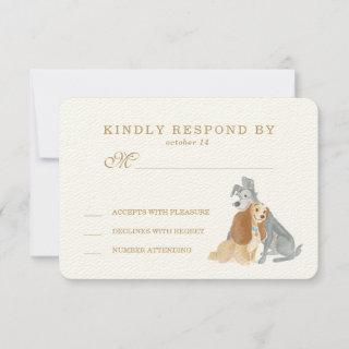 Lady and the Tramp Wedding RSVP