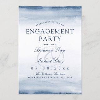 Lake Harbor Fog | Engagement Party Invitation
