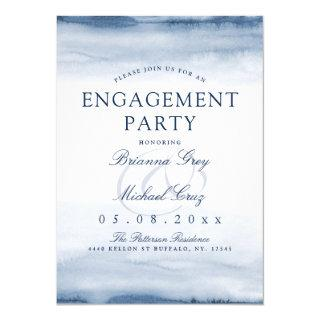 Lake Harbor Fog | Engagement Party Invitations