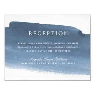 Lake Harbor Fog | Wedding Reception Invitations