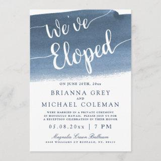 Lake Harbor Fog | We've Eloped Invitations