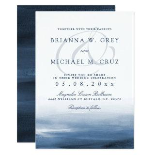 Lake Harbor Wedding Invitation