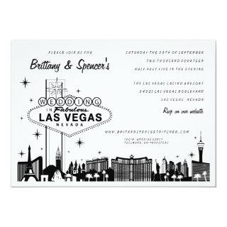 Las Vegas Strip | Las Vegas Wedding Invitations