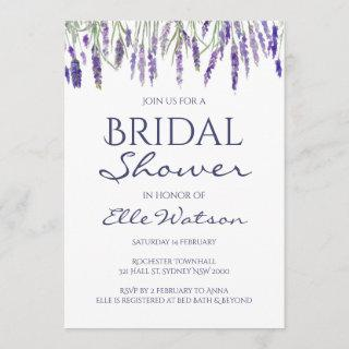 Lavender Bridal Shower Invitations, Wedding Invitations