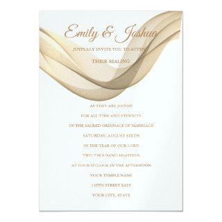 LDS Temple Wedding Invitations-The Veil Invitations