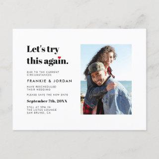 """Let's Try This Again"" 
