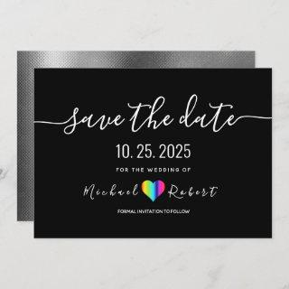 LGBT Wedding Save The Date