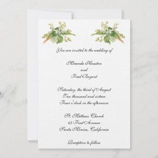 Lily of the Valley Wedding