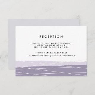 Lineation Reception Enclosure Card | Amethyst