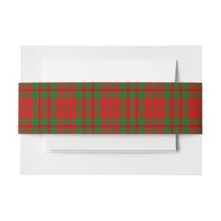 Livingston Scottish Tartan Belly Band