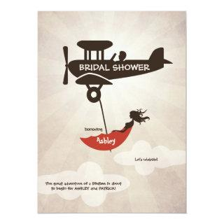 LOVE FLIGHT  Bridal Shower Invitations