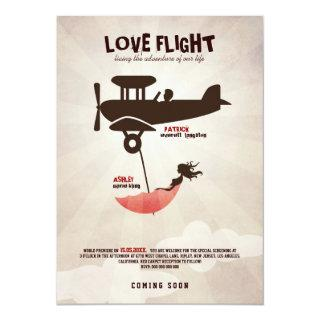 LOVE FLIGHT  Wedding Invitations