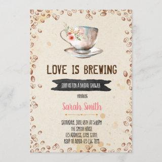 Love is brewing bridal shower