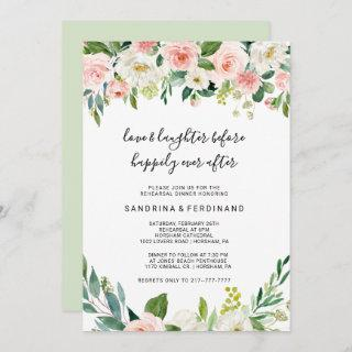 Love & Laughter Before Happily Ever After Invitations