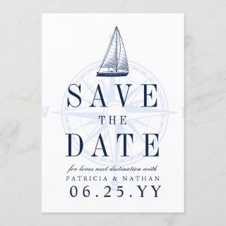 Love Sets Sail | Save the Date Invite