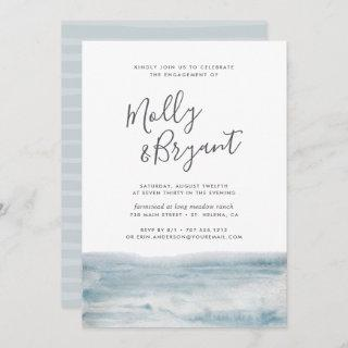 Low Tide Engagement Party Invitations