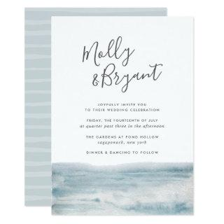 Low Tide Wedding Invitations
