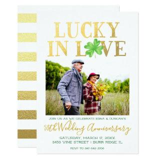 Lucky in Love | Wedding Anniversary Invitation