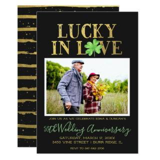 Lucky in Love | Wedding Anniversary Invitations