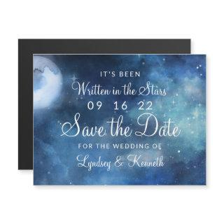 Lunar Sky Full Moon Stars Wedding Save the Date