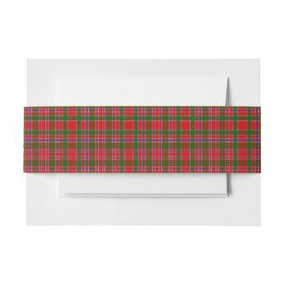 MacAlister Scottish Tartan Belly Band