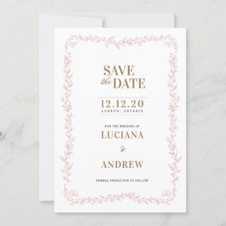 Madeline Floral Save the Date