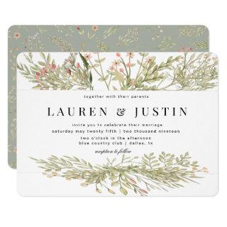 Magical Forest | Wedding Invitations