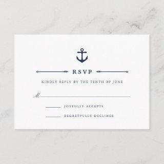 Maritime | Nautical Anchor RSVP