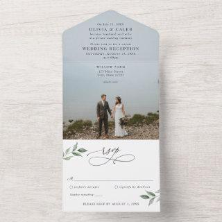 Marriage Announcement Wedding Reception All in One