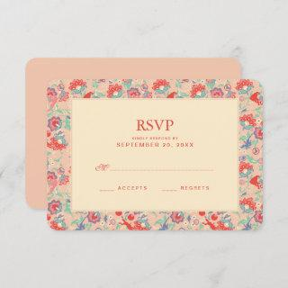 MARVEL Avengers Pink Floral Wedding RSVP Invitations