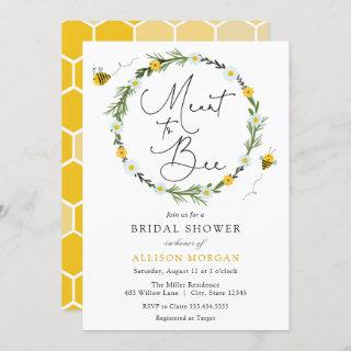Meant to Bee Bridal Shower Invitations