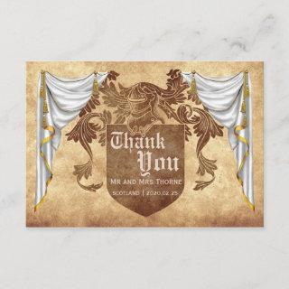 Medieval Wedding Thank You Card