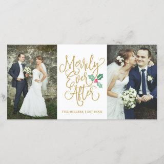 Merrily Ever After Wedding Holiday 2- Photo Gold