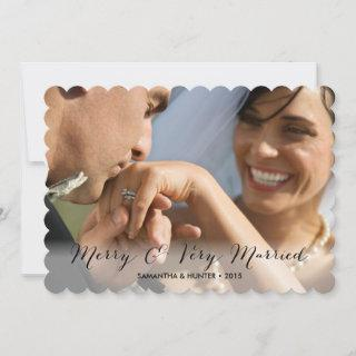 Merry & Very Married Couples Holiday Card