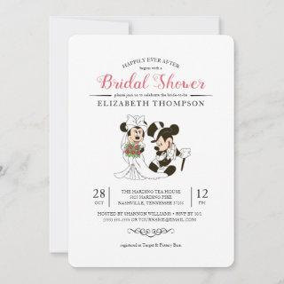 Mickey & Minnie | Bride and Groom Bridal Shower Invitations