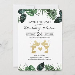 Mickey & Minnie Tropical Summer Save the Date