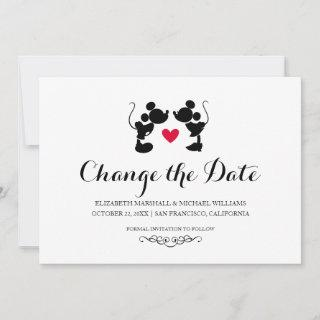 Mickey & Minnie Wedding | Change the Date Save The Date