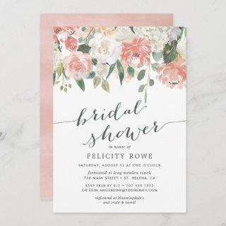 Midsummer Floral | Bridal Shower Invitations