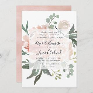 Midsummer Floral Wedding Invitations