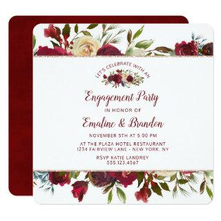 Mistletoe Manor Let's Celebrate Engagement Party Invitation