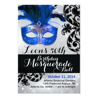 Modern Masquerade Ball Invitations