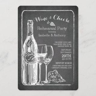 Modern Wine & Cheese Rehearsal Party