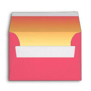 Mood Gradient Wedding Hot Summer ID741 Envelope
