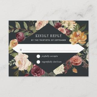 Moonlight Garden RSVP Card