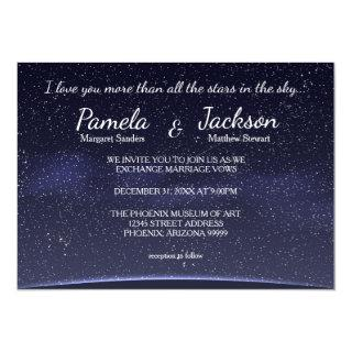 More Than All The Stars - Wedding Invitations